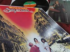 "Supermax ""World of today"" 1977 German 1st press from Archive Funky discoteca MINT"