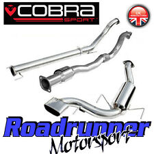 "VZ07b Cobra Sport Astra VXR MK5 3"" Turbo Back Exhaust System Non Res & Sport Cat"