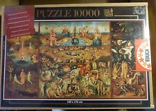 EDUCA 10000 Piece Puzzle The Garden of Delights New in Box NIB Sealed Rare Spain