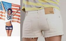 BELLISSIMI SHORTS DENNY ROSE art. 6565 TINTO CAPO CON ROTTURE BEIGE Tg L