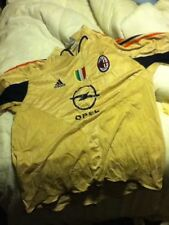 Ac Milan 3rd Gold Football Shirt/italian🇮🇹