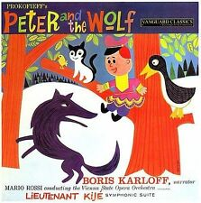 Peter and the Wolf/Lieutenant Kije Sui by M rio Rossi (Conductor) (CD,...
