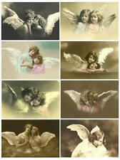 Vintage Angel Wings ~ Card Toppers / Scrapbooking / Card Making