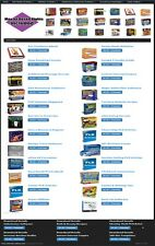 TURNKEY 'DOWNLOADS SHOP' WEBSITE FOR SALE! 135+ PRODUCTS WITH 100% RESELL RIGHTS