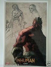 SDCC Comic Con 2014 Handout MARVEL NOW Inhuman LASH art print by Madureira