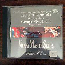 VIENNA MASTER SERIES: BERNSTEIN WEST SIDE STORY, GERSHWIN PORGY & BESS