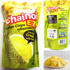 Thai Fruit Snack Durian Chips Vacuum freeze-dried Durian Monthong Premium No MSG