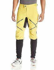 NEW VAUDE Men's Virt Softshell Outdoor Pants Biking Gold, Black, Size 52 XXL