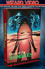 Jess Franco's Oasis Of The Zombies - VHS BIG BOX - Wizard Video 1982 Grindhouse