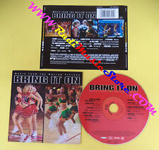 CD SOUNDTRACK Bring It On Music 500989 2 BLAQUE B*WITCHED no mc vhs dvd (OST3)