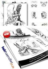► ELFEN UND ENGEL TATTOOS Fairies and Angels Tattoo Vorlagen eBOOK NEU E-LIZENZ