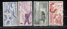 1947 French colony stamps, West Africa, full set MH, SC C11-4
