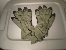 GENUINE US MILITARY INTERMEDIATE COLD WEATHER FLYERS GLOVES HAU-15/P LARGE T-4