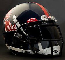 OLE MISS REBELS NCAA Schutt XP Gameday REPLICA Football Helmet w/EGOP w/OAKLEY