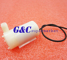 Mini Micro Submersible Motor Pump New Water Pumps DC 3-6V 120L/H Low