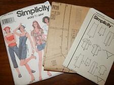 Simplicity 7237 UC FF size 3-10 Jumper Scarf Top Shorts Pants Sewing pattern