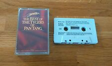 RARE NWOBHM UK Cassette The Best Of The Tygers Of Pan Tang MCFC3191 Hard Rock