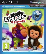Eyepet & Friends Move PS3 * NEW SEALED PAL *