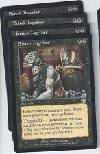 4 x Stitch Together  MTG Judgment