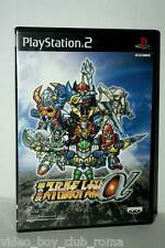 DAI-2-JI SUPER ROBOT WARS TAISEN ALPHA GIOCO USED SONY PS2 ED JAPAN NTSC/J 37462