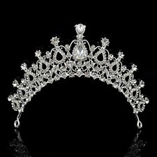 Elegant Bridal Wedding Crystal Rhinestone Hair Headband Crown Comb Tiara Prom