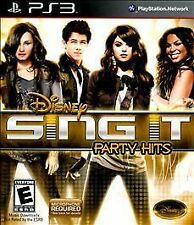 Disney Sing It: Party Hits PS3 (PlayStation 3) Brand New, Sealed~