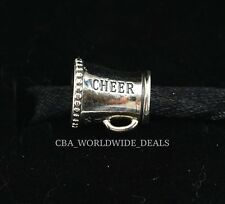 NEW Authentic PANDORA Sterling Silver Cheerleader Cheer Charm Bead 791125