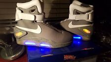 Back to the Future 2 - Marty McFly Custom Nike Air Mag shoes - Size 8
