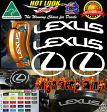 LEXUS HIGH TEMP Brake Caliper Decals Stickers GS IS LS LX RX SC CT IS200 450 250