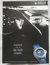 1995 TAG Heuer Watch Original advert