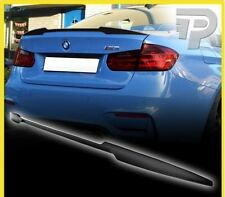 CARBON FIBER BMW 3-SERIES F80 V TYPE REAR TRUNK LIP SPOILER WING 2014-2015 ▼