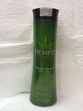 HEMPZ NATURALS NATURAL BRONZER TAN MAXIMIZER ~ HEMP SEED OIL ~ TANNING LOTION