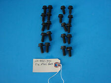 1953-59 Chrysler 331 354 392 Hemi New Aftermarket Oil Pan Bolts Qty 20 Mopar