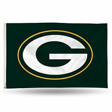 "Green Bay Packers NFL Banner Flag 3' x 5' (36"" x 60"") ~ NEW"