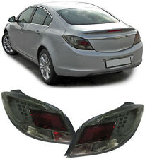 ALL SMOKED LED REAR LIGHTS FOR VAUXHALL INSIGNIA LHD 2008-05/2013 NICE GIFT ITEM