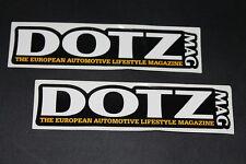 DOTZ Felgen Rims Alufelgen Aufkleber Sticker Decal Kleber Logo Schriftzug MAC