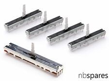 4 x FADER & 1 x CROSSFADER KIT FOR PIONEER DJM 700 800 2000 5000 - UPGRADE TYPE