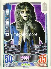 #031 Clockwork Droid - Alien Attax Doctor Who - 50th Anniversary