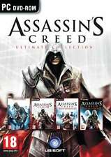 Assassin's Creed Ultimate Collection - PC DVD - brand new and factory sealed