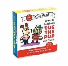 My Very First I Can Read! Ser.: Learn to Read with Tug the Pup and Friends!...