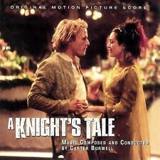 A Knight's Tale - Carter Burwell  OUT OF PRINT!  BRAND NEW, STILL SEALED!