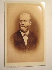 Kolding - Mann im Anzug mit Bart und Brille - Portrait / CDV