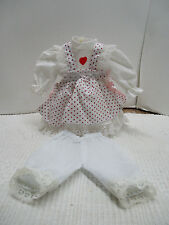 "NEW COTTON Victorian Style.Doll Dress For Vintage Antique or China 14"" DOLL"