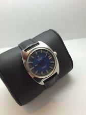 Vintage Tissot Seastar 17 Jewels Black Swiss Watch - Serviced
