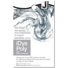Jacquard iDye POLY  Fabric Dye 14 Grams  GUN METAL Feathers, Basketry, Tie Dye