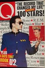 Q MAGAZINE, No 105, JUN 95 feat TRICKY, ELVIS COSTELLO, ADAM ANT, CELINE DION