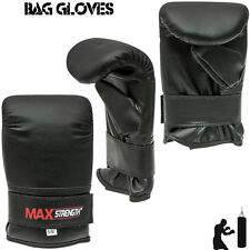 Pink Boxing Bag Gloves MMA Grappling Mitts Kick Muay Thai Mens Fight Training UF