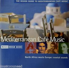 The Rough Guide To Mediterranean Cafe Music - Various Artists (CD 2004)VG++ 9/10