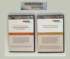 Bedrock Learning 2 CD Project Management and Planning Symbols in Home Technology