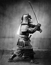 Photo 1859 Japan.  View of Samurai Soldier